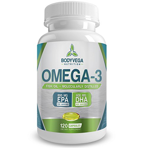 Omega 3 fish oil pills 120 capsules count triple for Fish oil pills