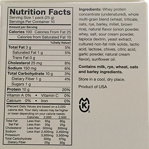 Isagenix Whey Thins 100 Calorie Packets